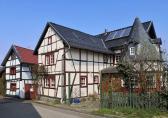 Hübsches Fachwerkhaus in der Siedlung Rißdorf