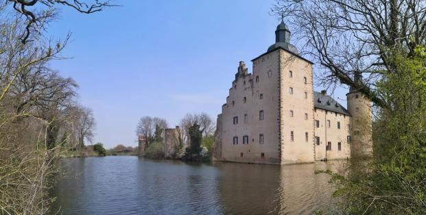 Panoramabild von Burg Veynau