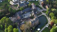 Luftbild von Burg Satzvey (Foto Wolkenkratzer | http://commons.wikimedia.org | Lizenz: CC BY-SA 3.0 DE)