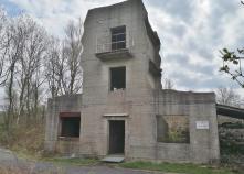 Trainingsgebäude für den Nahkampf auf dem Gelände der ehemaligen Bergischen Kaserne