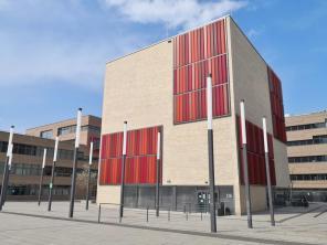 Moderner Campus der Hochschule Ruhr West