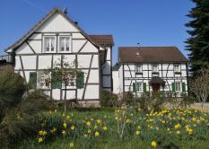 Fachwerkhaus in Uppersberg