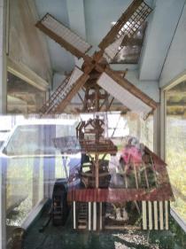 Modell der alten Steiner Mühle