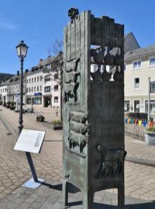 Tiergarten-Stele am Johannismarkt