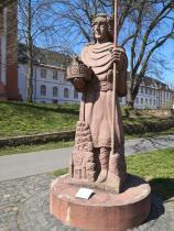 Figur des Kaisers Lothar