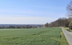 Blick von den Höhen hinunter nach Sonsbeck