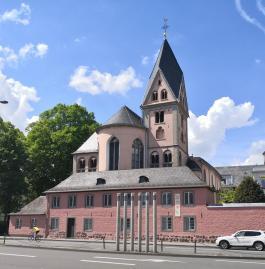 Kirche St. Maria Lyskirchen am Schokoladenmuseum