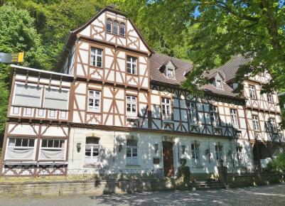 Christophorus Haus außerhalb der früheren Klostermauern
