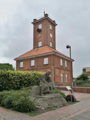 Schifffahrtsmuseum der Oldenburgischen Weserhäfen Brake am Weserufer