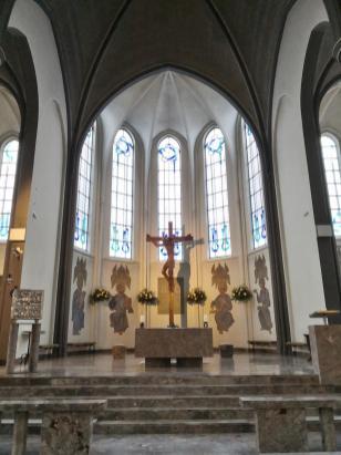 Altrraum der St.-Marien-Kirche
