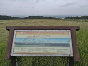 Vom Geyberg kann man bei guter Sicht bis ins 35 km entfernte Grenvenbroich blicken
