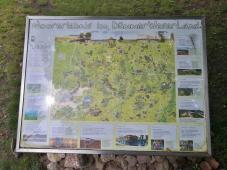 Infokarte am Haus am Moor