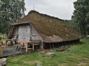 Typisches Bauernhaus der früheren Bewohner der Region