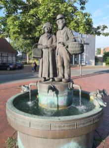 Bürgerbrunnen an der Kleinen Hase