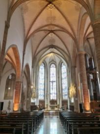 Innenraum von St. Dionysius