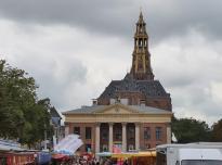 Kornbörse und Aa-Kirche am Fischmarkt