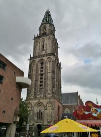 Turm der Martinkerk am Alter Markt