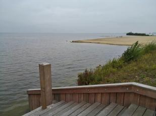 Strandinsel vor dem Hafenboulevard