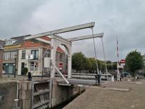 Hebebrücke an der Stadsgracht