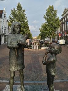 "Skulptur am Kanal ""Kleinzand"""
