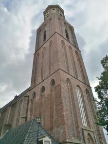 """Turm der Liebfrauenkiche, """"Peperbus"""" (Pfefferbüche) genannt"""