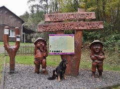 Am Waldsee startet auch die Traumschleife Schanzerberg-Tour