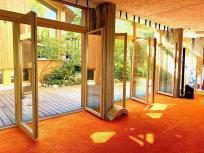 Großer Yoga-Raum in der Yoga-Villa in Gensingen (Copyright Erika und Hartmut Bretz)