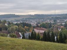 Am Odesberg öffnet sich der Blick Richtung Kusel