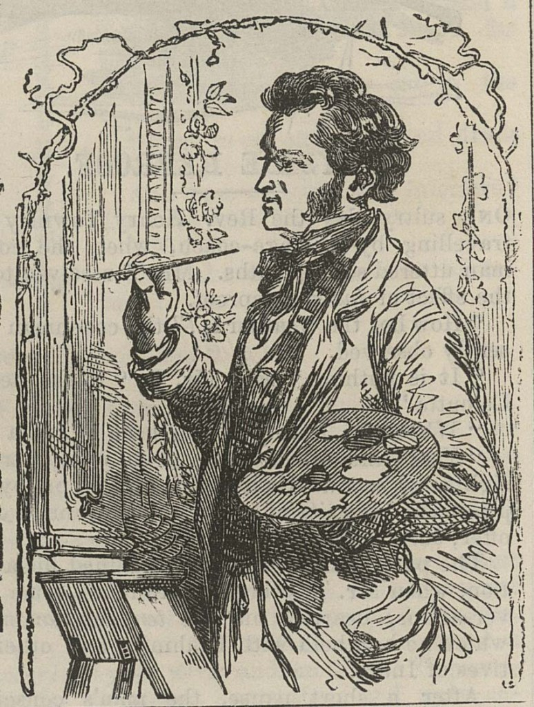 "Henry Anelay illustration for ""British Workman"" masthead issue no. 9"