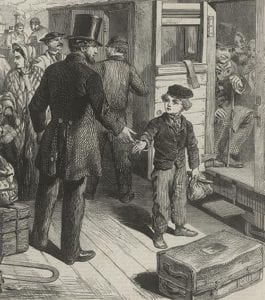 """The Railway Station; Or, the Power of Kind Words,"" ""British Workman"" 120 (1864): 477."