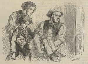 """Cheer Up, My Lad!"" ""British Workman"" 33 (Sept 1857): 132."