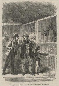 """How Sam Adam's Pipe Became a Pig,"" ""British Workman"" 110 (Feb 1864): 440."