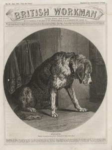 "Edwin Landseer, ""Suspense,"" ""British Workman"" 90 (June 1862): 358."
