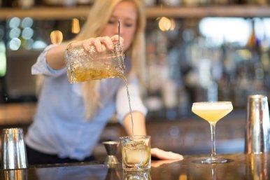 Each drink is prepared using fresh ingredients