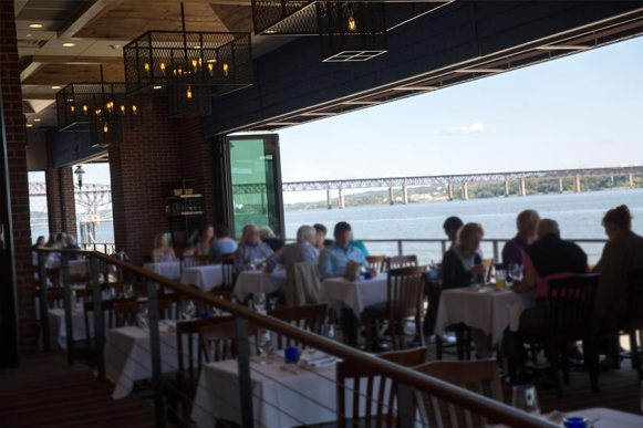 Newburgh's premier waterfront dining restaurant