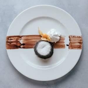 blu beach dessert choc fondant