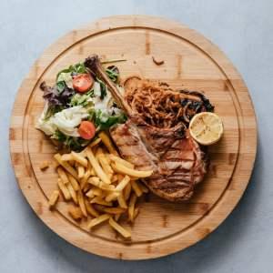 blu beach pork tomahawk