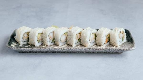 blu beach prawn tempura roll