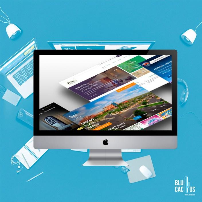 BluCactus Agencia de Diseño de páginas web