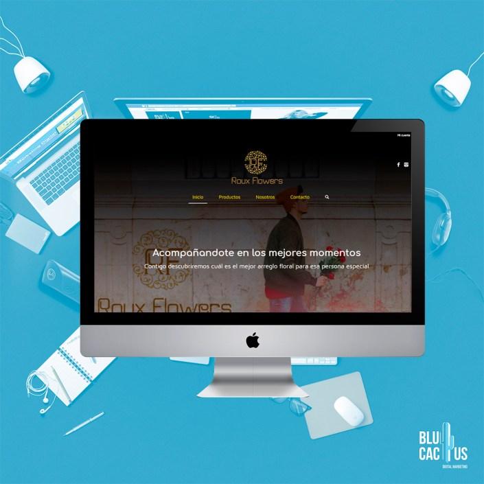 BluCactus Agencia de Diseño de páginas web - Rox Flowers