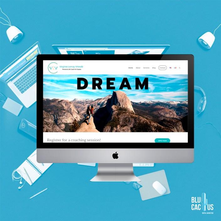 BluCactus Agencia de Diseño de páginas web - VLV - Leadership Development Coach