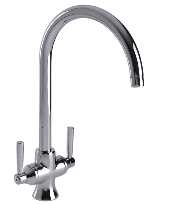 Bluci Arno Filtro Water Filter Twin Lever Kitchen Tap