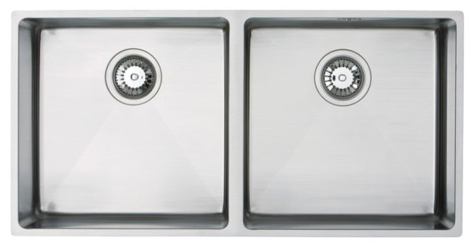 Bluci Acute 09 Double Bowl Stainless Steel Kitchen Sink
