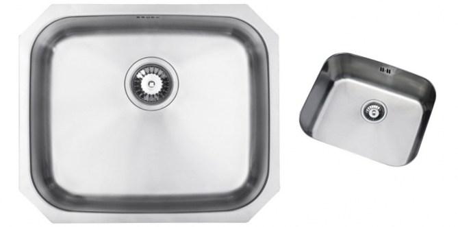 Bluci Rubus 50u Stainless Steel Undermount Kitchen Sink