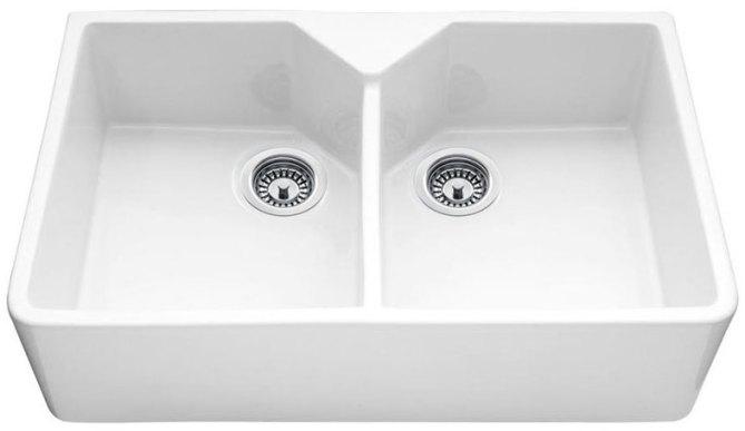 Bluci Vecchio G10 Double Bowl Ceramic Kitchen Sink