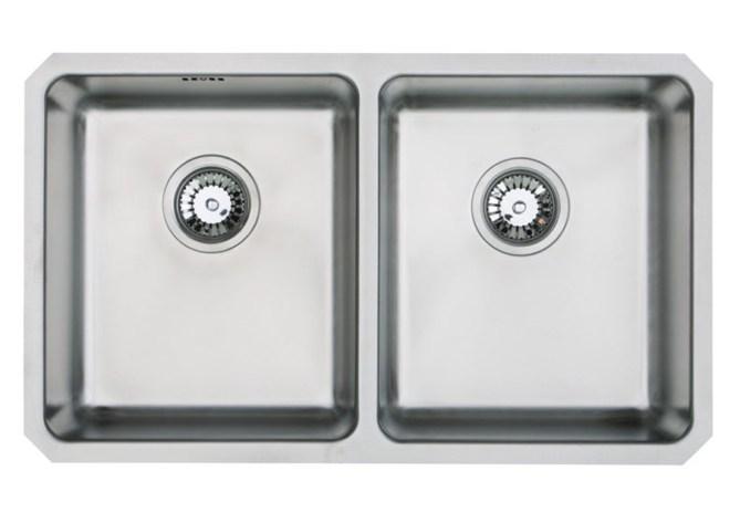 Orbit double bowl undermount sink