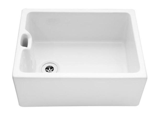Bluci Vecchio G8 Ceramic Belfast Sink with Wier Overflow