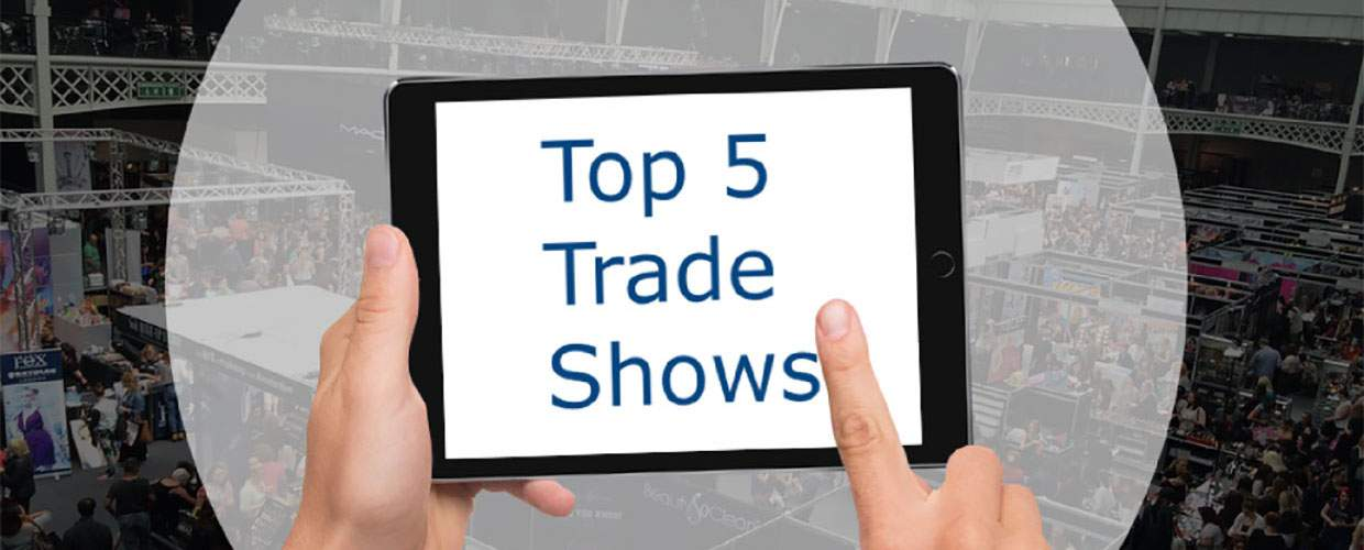 Top 5 trade shows you can attend this year