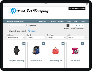 CloudCart - Online product catalogues for wholesalers to sell more