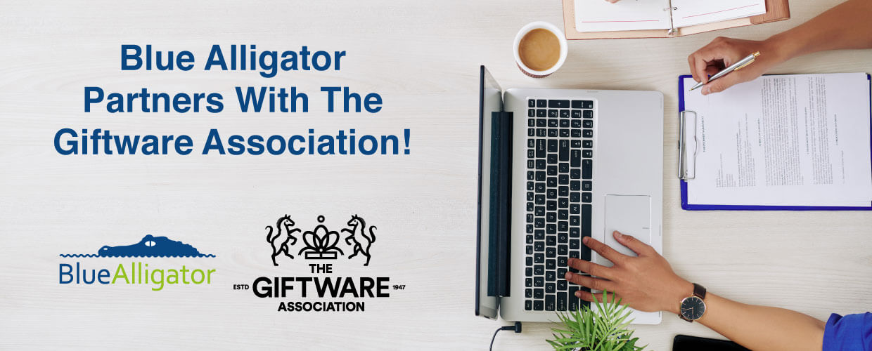 Blue Alligator joins forces with the Giftware Association